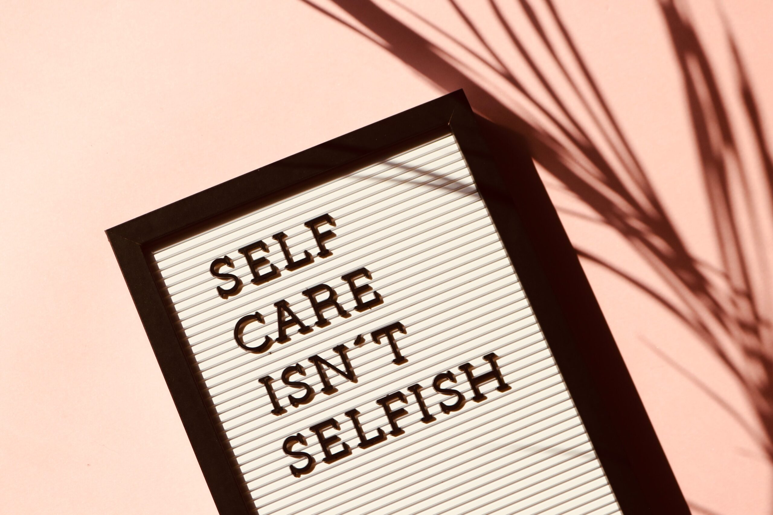 Self-Care – Pause and Reflect